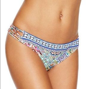 New with Tags Nanette Lepore Greek Tiles Bottoms